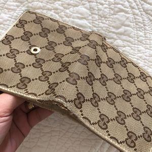 Gucci Bags - Authentic Gucci GG chery line Wallet